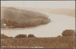 Tolvern Ferry & King Harry Reach, Cornwall, 1909 - Bragg RP Postcard - England