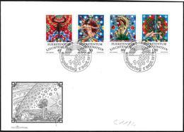 Liechtenstein: FDC, Segni Zodiacali, Signes Zodiacaux, Zodiac Signs - Astrologia