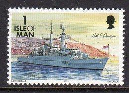 GB ISLE OF MAN IOM - 1993 DEFINITIVE SHIPS 1p STAMP FINE MNH ** SG 539 - Isle Of Man