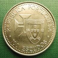 Portugal | 100 Escudos 1989 Madeira E Porto Santo | KM 647 |  UNC - Portugal