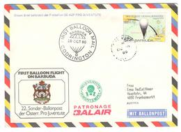 3062 - Pour L'Autriche - Barbades (1966-...)