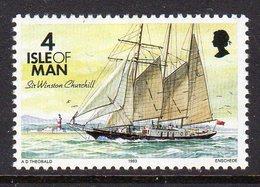 GB ISLE OF MAN IOM - 1993 DEFINITIVE SHIPS 4p STAMP FINE MNH ** SG 541 - Isle Of Man