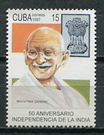 Cuba 1997 / India Gandhi MNH / Cu8603  C3 - Cuba