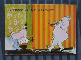 TI - Illustrateur Lassalvy - Thème L'amour Et Les Musiciens - Lassalvy