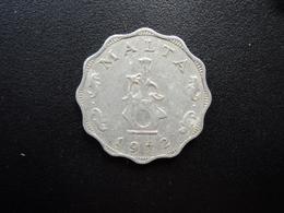 MALTE : 5 MILS   1972   KM 7   SUP - Malte
