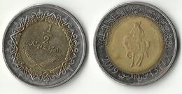 Libya,1/2 Dinar 2009 - Libye