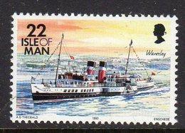 GB ISLE OF MAN IOM - 1993 DEFINITIVE SHIPS 22p STAMP FINE MNH ** SG 545 - Isle Of Man