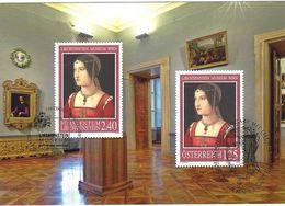 Liechtenstein 2007: A.Zaganelli: Porträt Einer Dame (Liechtenstein-Museum Wien) Zu 1380 Mi 1437 MK 267 (Zu CHF 15.00) - Emissions Communes