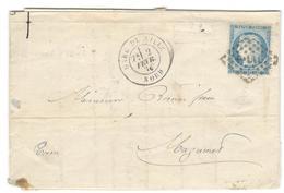 3074 - GARE DE LILLE - Marcophilie (Lettres)