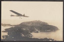 Cap Ferrat - Monoplan Antoinette Latham - Carte Photo Rare - Cartes Postales