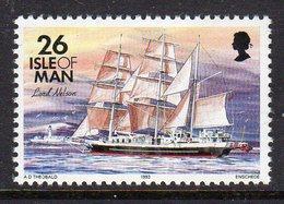 GB ISLE OF MAN IOM - 1993 DEFINITIVE SHIPS 26p STAMP FINE MNH ** SG 549 - Isle Of Man