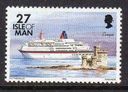 GB ISLE OF MAN IOM - 1993 DEFINITIVE SHIPS 27p STAMP FINE MNH ** SG 550 - Isle Of Man