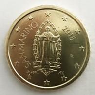 San Marino 2018  50 Cent  Met De Nieuwe Afbeelding - Nouvelle Représentation UNC Uit De Rol - UNC Du Rouleaux . - San Marino
