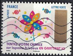 France 2017 Oblitéré Used Timbre à Gratter N° 12 Moulin à Vent Y&T 1501 - France