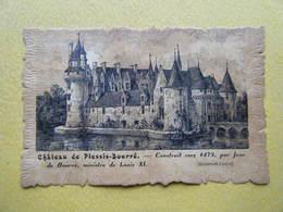 ECUILLE. Le Château De Plessis Bourré. - Autres Communes