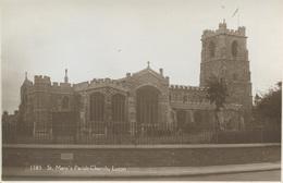 BEDS - LUTON - ST MARY'S PARISH CHURCH RP Bd181 - Autres