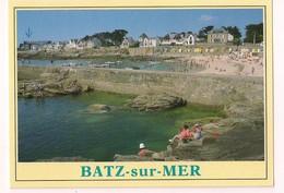 Batz Sur Mer: La Plage St Michel Et La Jetée Du Port - - Batz-sur-Mer (Bourg De B.)
