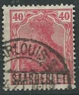 Sarre , Occupation Française  - Yvert N° 42 Oblitéré  -  Ad37210 - Unused Stamps