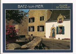Batz Sur Mer: Lles Vieilles Maisons Du Village De Kervalet - - Batz-sur-Mer (Bourg De B.)