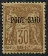 Port-Said (1899) N 12 * (charniere) - Neufs