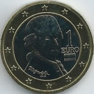 Oostenrijk 2018      1 Euro      UNC Uit De Rol  UNC Du Rouleaux  !! - Oesterreich