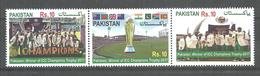 PAKISTAN 2017 ICC CHAMPIONS TROPHY CRICKET   MNH - Pakistan
