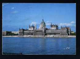 Hungría. Budapest *Parliament* Foto: Bakonyi Tamás. Circulada 1990. - Hungría