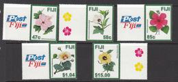 2016 Fiji Flowers Fleurs   Complete Set Of 5 MNH  @FACE - Fiji (1970-...)