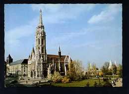 Hungría. Budapest *Matthias Church* Foto: Sehr Miklós. Circulada 1979. - Hungría