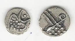 Südindien Ceylon Silber Fanam 15 - 17 Jahrhundert - Inde
