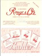 Lot 15 Buvards Nogent Creil Oise Devred Queneutte Rouge Et Or Buhler Petrole Hahn - Collections, Lots & Séries