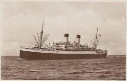 """Motorschiff """"Monte Cervantes"""",Hamburg-Südamerikanische-Dampfschifffahrts-Gesellschat,ungelaufen - Dampfer"""