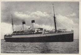 """Motorschiff,""""Monte Sarmiento"""",Hamburg-Südamerikanische-Dampfschifffahrts-Gesellschaft,ungelaufen - Dampfer"""