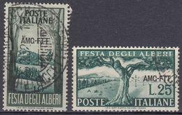 TRIESTE  Zona A AMG-FTT - 1951 - Serie Completa Usata: Yvert 130/131; Due Valori. - Trieste