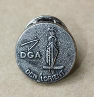 "Pin's épinglette Insigne ""DGA - DCN Lorient"" Morbihan - Bretagne - Marine National - Army"