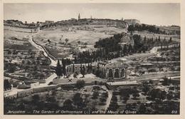 AK Jerusalem ירושלים Al Quds القدس Mt Olives Gethsemane Israel מדינת ישראל دولة إسرائيل Palästina Palestine دولة فلسطين - Palestine