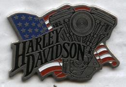 Pin's Moto Harley Davidson - Motorbikes