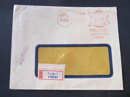 R-BRIEF Praha 1 Rolnicka Vzajemna 18.10.1939  Mitläufer Frankotype Freistempel Postfreistempel /// M3816 - Böhmen Und Mähren