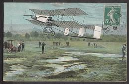 Henri Farman Battant Le Record De L'Aéroplane - Cartes Postales