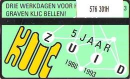Telefoonkaart  LANDIS&GYR NEDERLAND * RCZ.576  301H * Klic 5 Jaar Zuid * TK * ONGEBRUIKT * MINT - Nederland