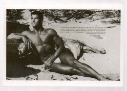REF EX  : CPM Grand Format - Culture Physique Pictorial Homme Muscle Gay Nu Masculin - Cartes Postales