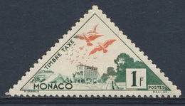 Monaco 1953 Mi 40 YT 39A - Timbre Taxe / Portomarke * MH - Pigeons Released From Mobile Loft / Reisetauben - Post
