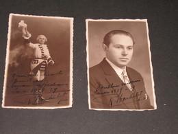 R. MONTULET - 2 Photos Cpa Dédicacée - Saison 1928-29 - Photo J LENOIR Liège - Célébrités