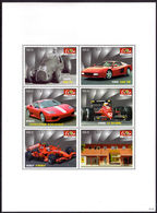 Niue 2007 Ferrari Sheetlet Unmounted Mint. - Niue