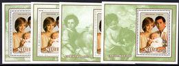 Niue 1982 Christmas Set Of 4 Souvenir Sheets Souvenir Sheet Unmounted Mint. - Niue