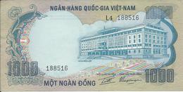 Vietnam Sud   1000 Dong   1972   Neuf - Vietnam