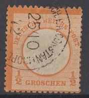 DR Minr.V18 Gestempelt Constantinopel 25.10.72 - Deutschland