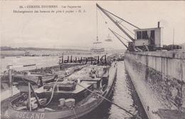 91- CORBEIL-ESSONNES- Les PAPETERIES-Déchargement Des Bateaux De Pâte à Papier-Ecrite-2 Cachets 26 Et 27 Juin 1916- - Corbeil Essonnes