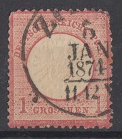 DR Minr.19 Plf. X Gestempelt - Deutschland