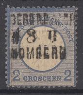 DR Minr.20 Plf. II Gestempelt Bpst. - Deutschland